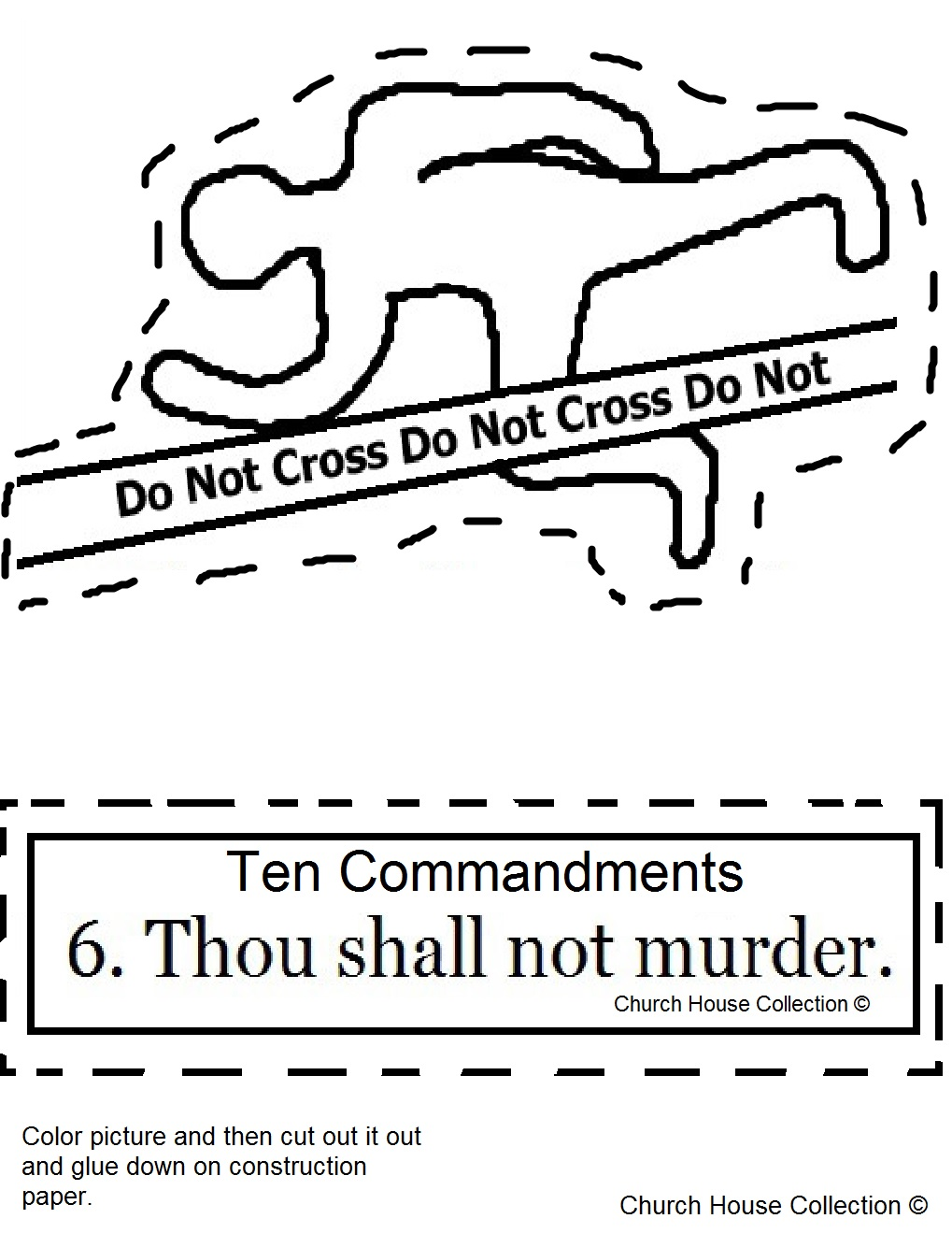 Gods Ten Best The Ten Commandments Coloring Book