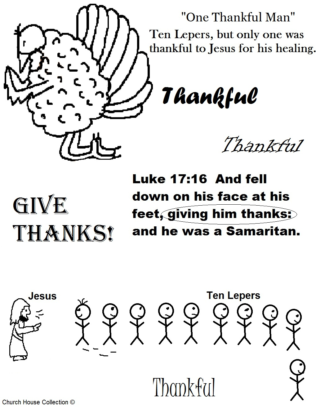 bible coloring pages thankfulness - photo#43