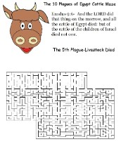 The 10 Plagues of Egypt Livestock Maze