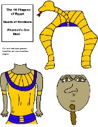 10th Plague of Egypt Pharaoh Activity Sheet