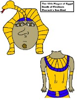 Ten Plagues of Egypt Activity Sheet Pharaoh