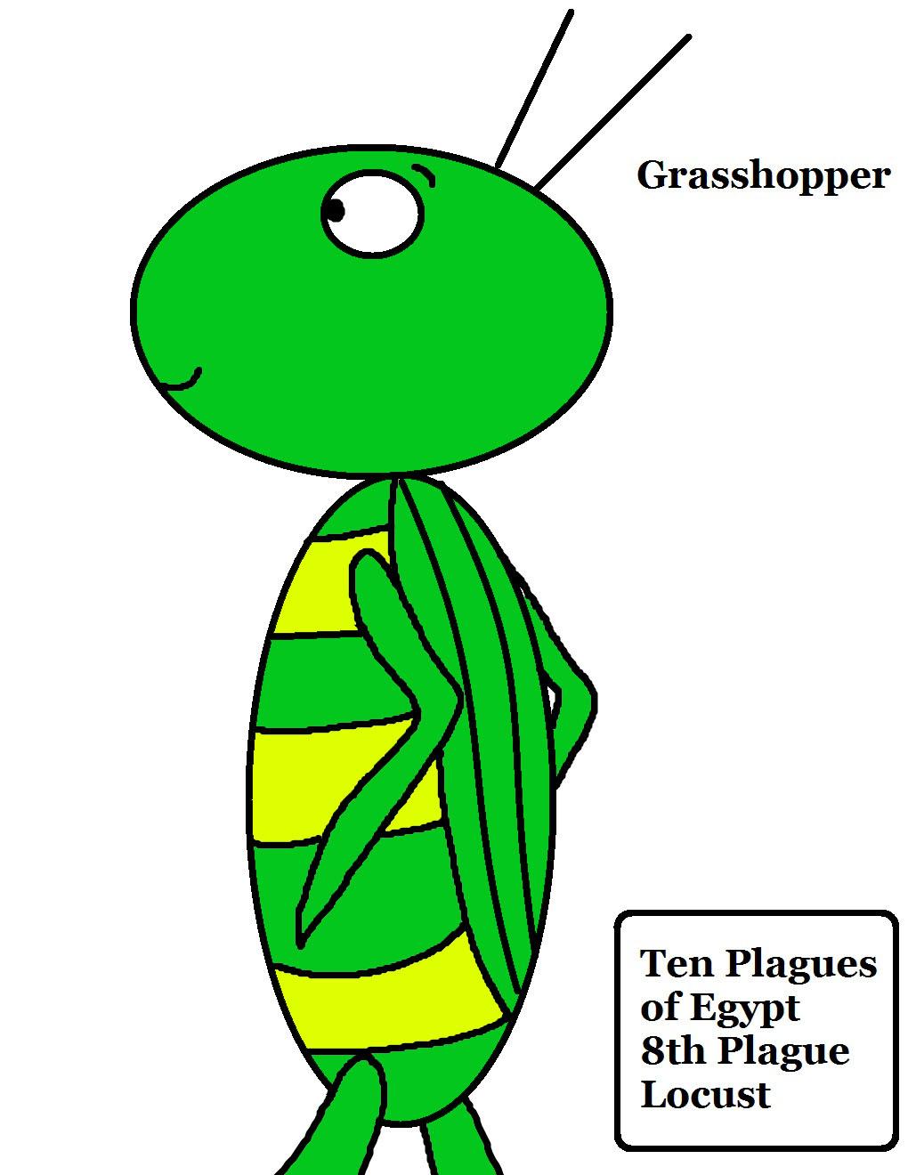 10 Plagues of Egypt Locust Lesson