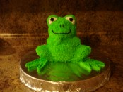 The 10 Plagues of Egypt Frog Cake Recipe