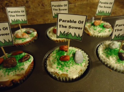 The Parable of The Sower Cupcakes