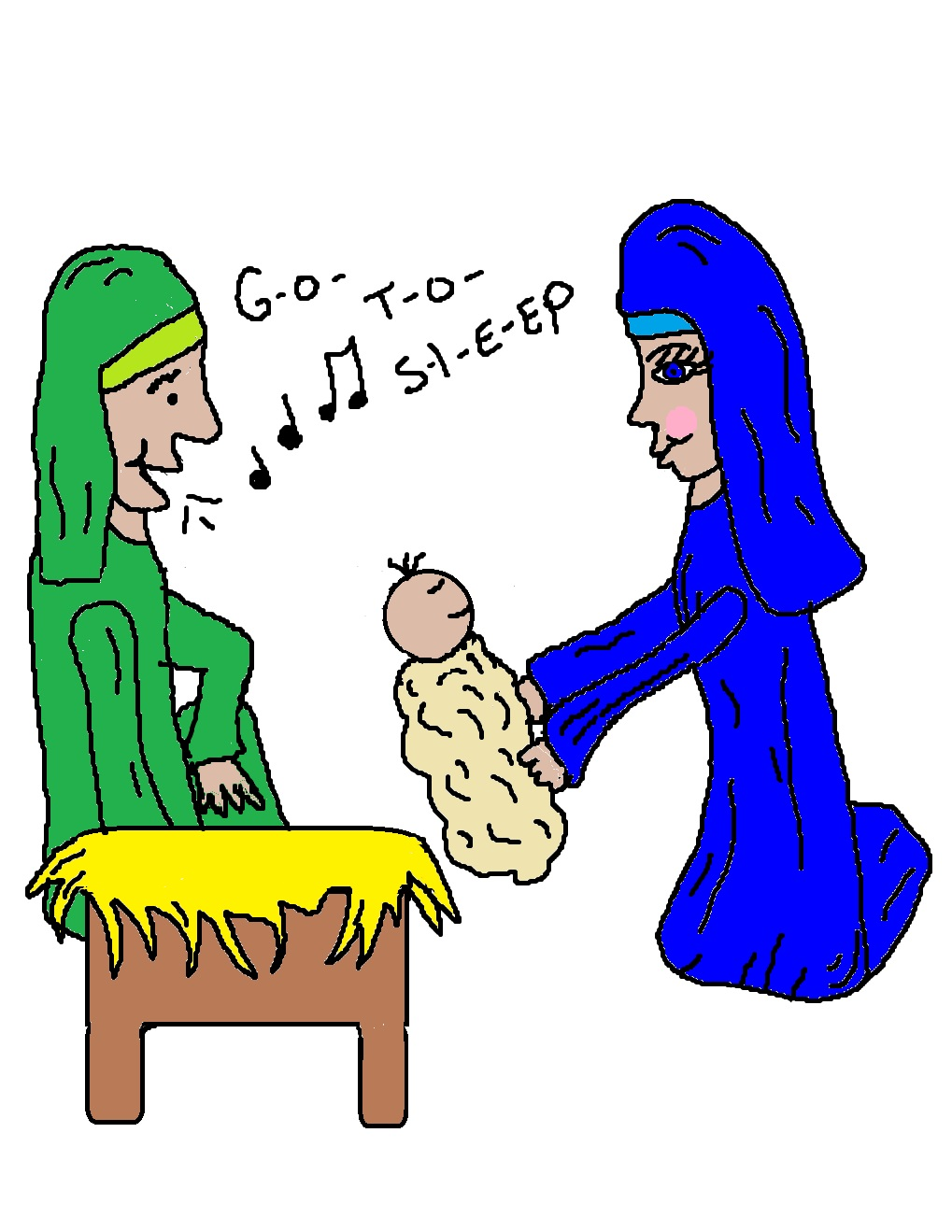 Birth of Jesus Sunday School Lesson  Jesus Christ Birth Clipart