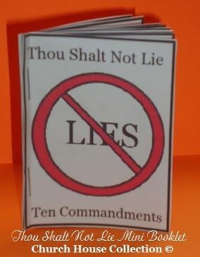 Thou Shalt Not Lie Mini Booklet
