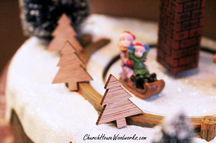 Mini Wooden Christmas Trees. Use for Christmas Ornaments or in DIY Christmas Wreaths, Christmas Villages, etc. Make a cute winter wonderland scenery using them .You can paint them or leave them plain. Blank Wood Ornaments.