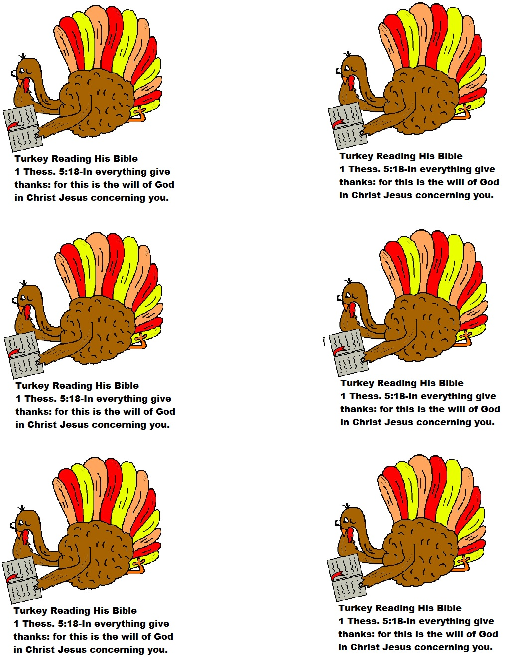 Give Thanks In All Things Sunday School Lesson