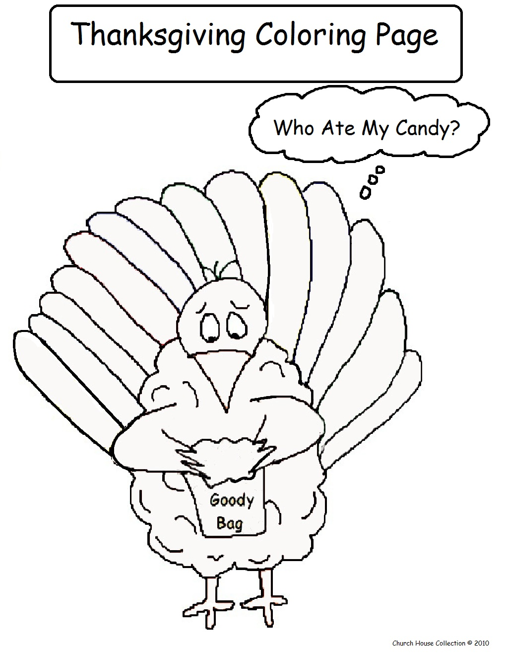 church thanksgiving coloring pages - photo#27