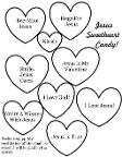 Jesus Sweetheart Candy Coloring Page Psalm 104:34