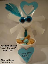 Valentine's Day Snacks for Sunday School