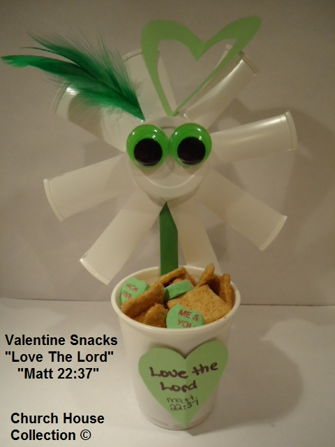 Valentine Snacks For Kids Love The Lord Sunday school