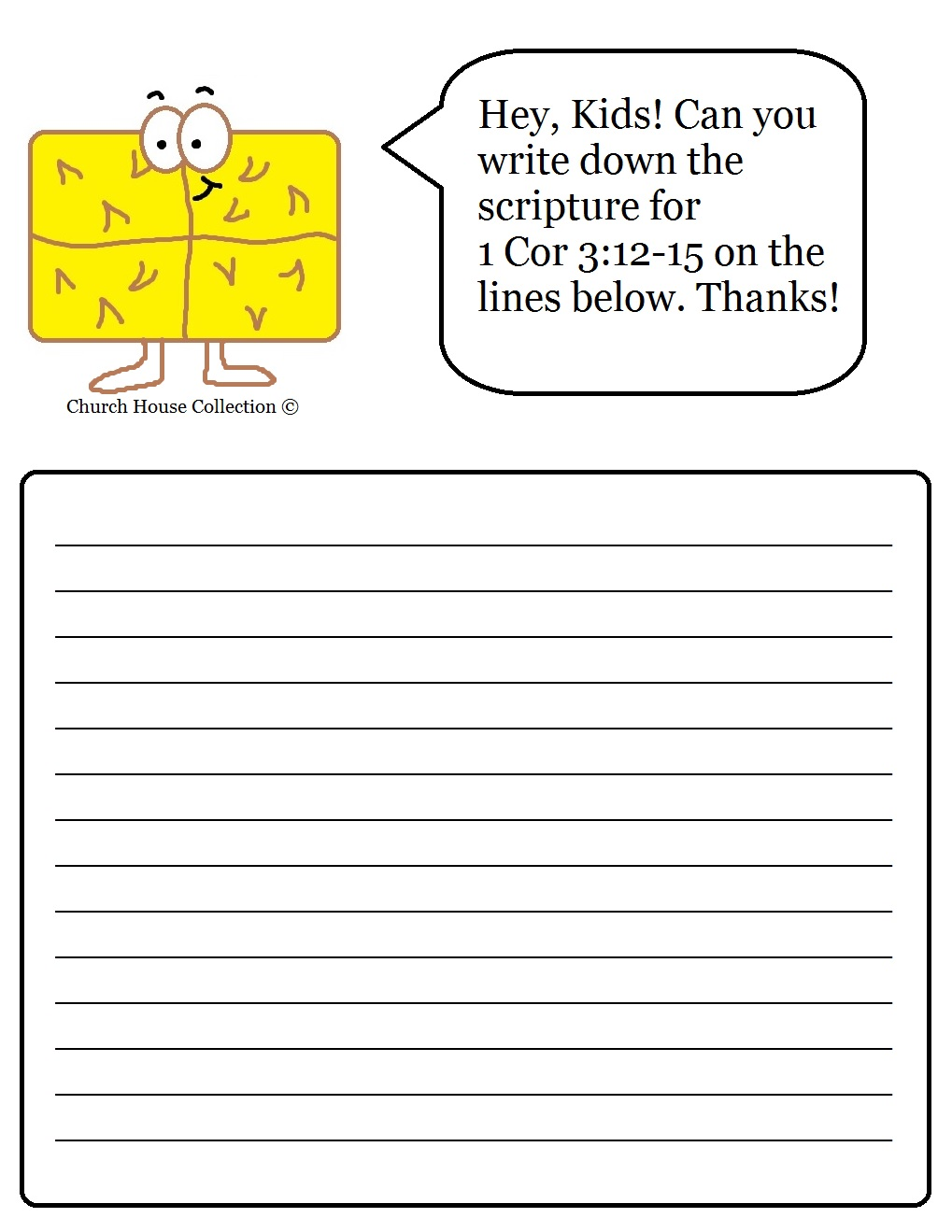 Worksheets Sunday School Printable Worksheets hay bale scripture writing sheet for sunday school printable version