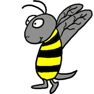 Spring Bee Clipart