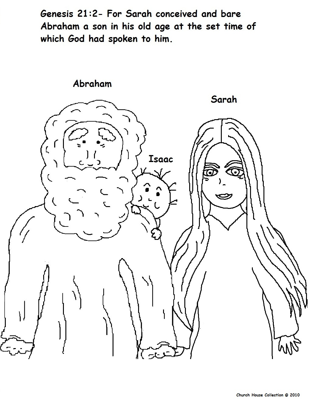 abraham coloring pages and crafts - photo#29