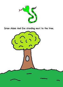 Adam and Eve Activity Page Satan and Eve Activity Page