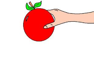 Adam and Eve Cliaprt Eve Holding Apple Clipart Picture