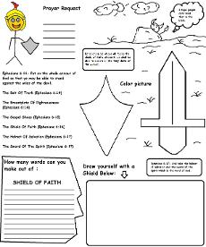 image regarding Armor of God Printable Activities titled Armor Of God Lesson For Small children