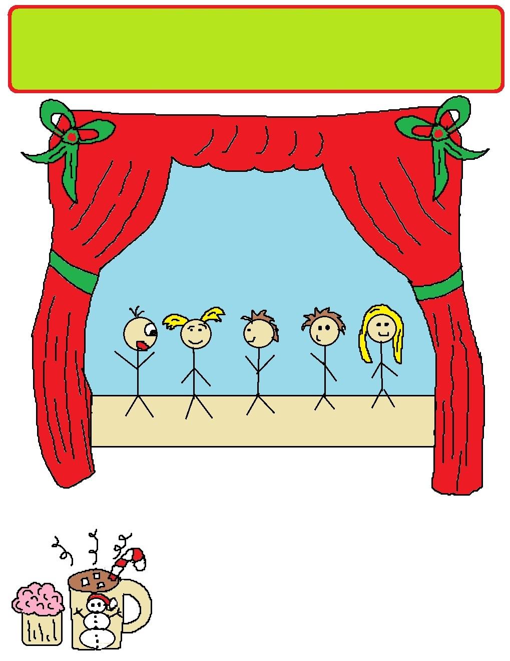 Printable christmas play invitations for church printable version stopboris Images