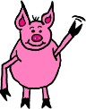 Pig Clipart- Animal Clipart
