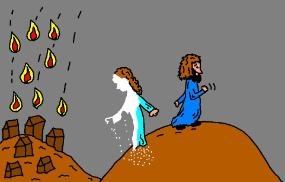 bible story of lot pillar of salt