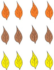 Fall Cupcake Toppers Fall Stickers