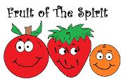 Free Fruit of the Spirit Sunday School Bible Coloring Pages