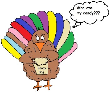 Turkey clipart, Thanksgiving Clipart