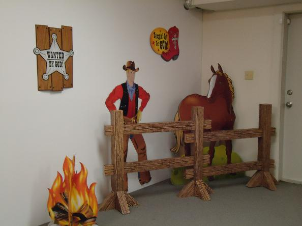 Western Vacation Bible School Theme